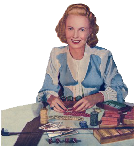 American Weekly Magazine 1948 Article About Elaine Townsend, the First Female Gambling Impresario (PDF opens in new window)