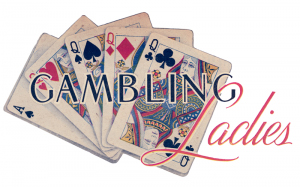 Gambling Ladies Playing Cards
