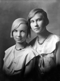 Elaine Townsend and Her Sister